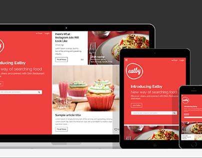 Eatby - Web & Mobile ( in progress)