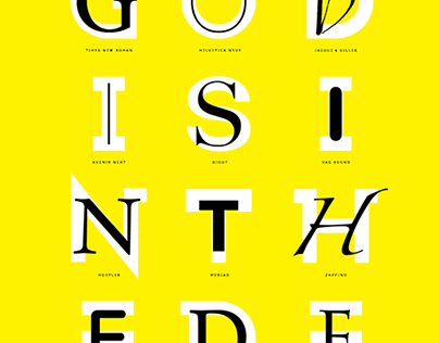 God is in the Detail - Poster