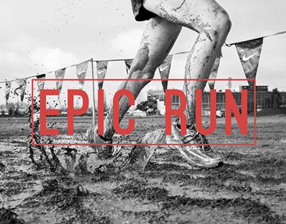 Web design - epic run