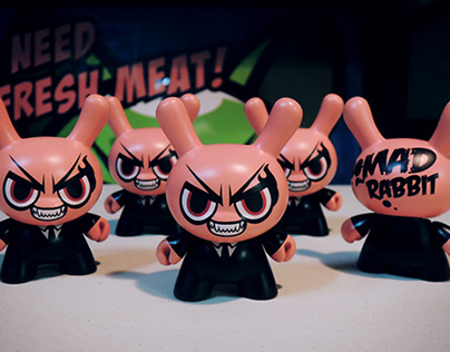 Mad Rabbit – Dunny 3″ Custom
