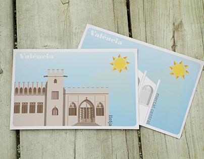 VLC postcards