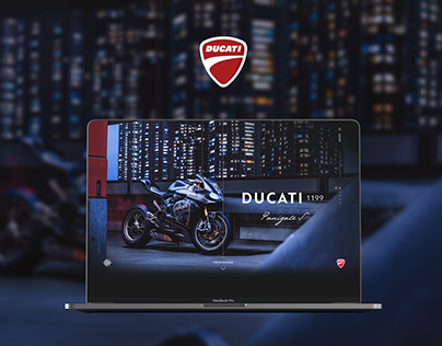 Ducati Panigale S 1199 Promo page