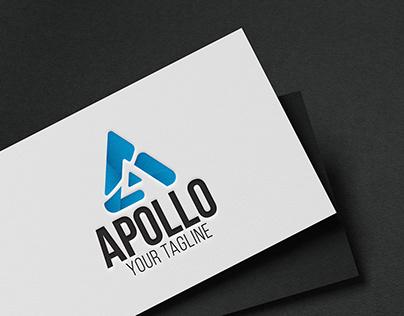 Apollo A Letter Logo Design