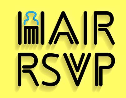 Hair RSVP - Logo Design