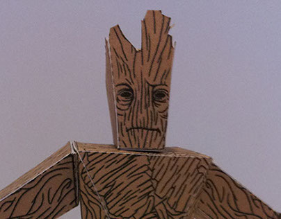 Guardians of the Galaxy papercraft