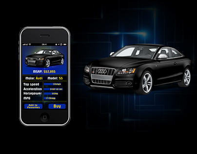 Scan My Car IOS UI Design