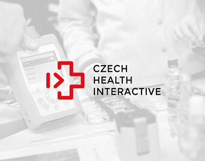 Logo CZECH HEALTH INTERACTIVE koncept