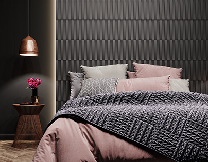 3D concrete tile #14, brand ASHOME