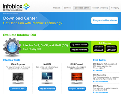 Infoblox Executive Exchange Program on Behance