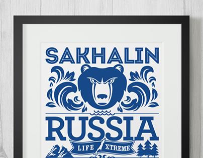 Sakhalin typographics