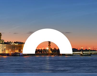 St.Petersburg city branding