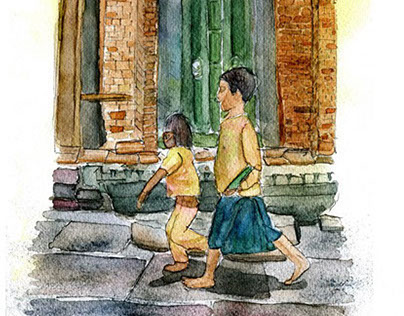 Watercolor(chiang mai)