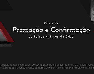 CMJJ - Promoção e Confirmação de Faixas e Graus