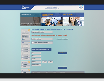 Webdesign - Refonte UX UI Intranet CNAM TS