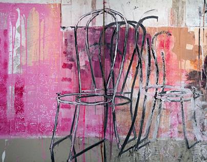 Bez tytułu (Różowy pokój) / Untitled (Pink room)
