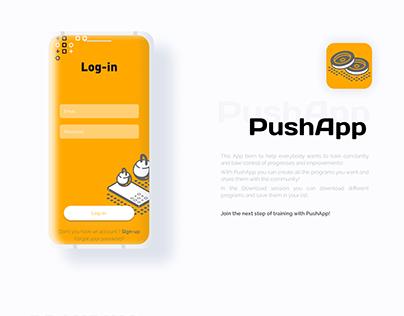 PushApp - Mobile App