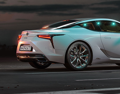 Lexus LC500h (Full CG)