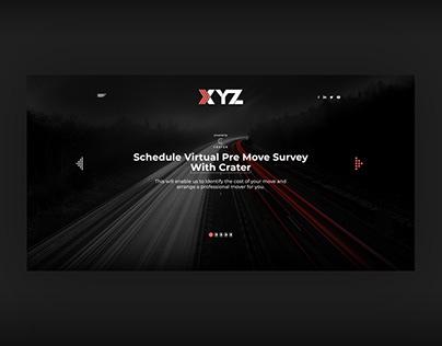 """XYZ """"Dark"""" (Web Design)"""