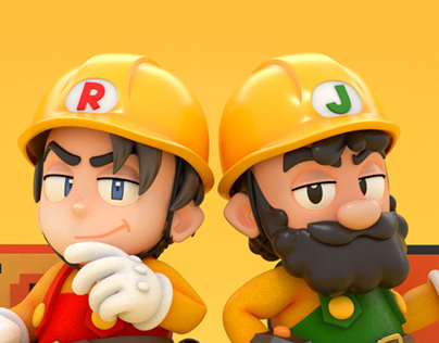 Mario Maker Animations