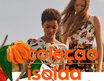 Isolda collection for Riachuelo stores