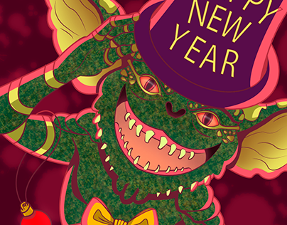 Happy New Year from your Gremlin Friend!