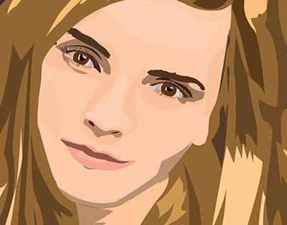"""""""Emma Watson"""" Illustration .."""