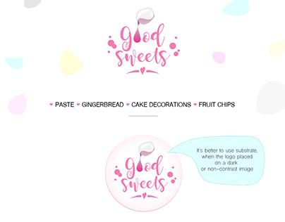 "logo design ""Good Sweets"""
