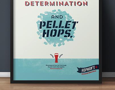 Hopman's posters