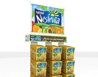 Nesfruta Nestle - Exhibidores Varios