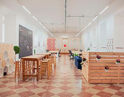 COWORKING LA TÉRMICA · Interior & Furniture