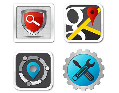 Passive GPS WebPage Icons
