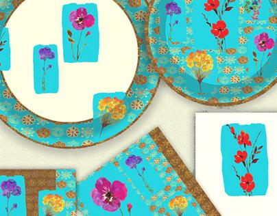 Bohemian Chic-Paper Plates