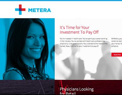 Metera Sales Website