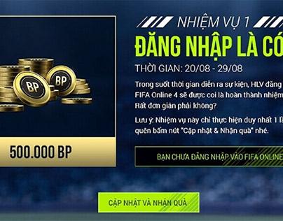Update Các Code Của FIFA Online 4 Cập Nhật Mới Nhất