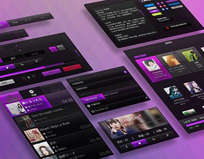 Obsidian - UI kit