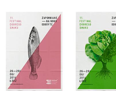 identity of the 11. Festival Dobrego Smaku in Lodz