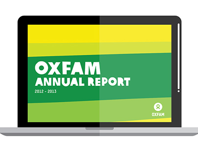 OXFAM. annual report 2012 - 2013