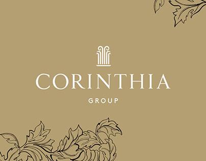 Corinthia Group – A portfolio website for investors