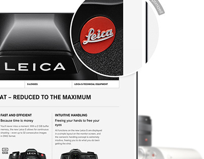 Leica – Global corporate website