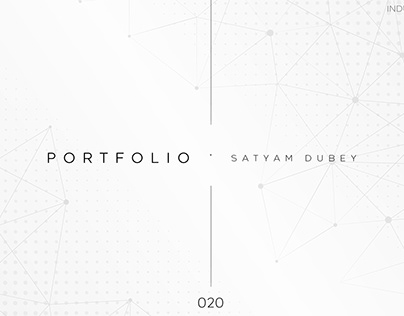 Industrial Design PORTFOLIO 020