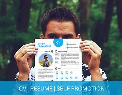 Self promotion | CV | Resume | Printable | Free