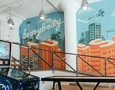 Everybody Hustle Mural