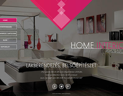 Lakberendezés, Interior design concept