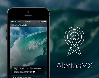Disaster Alert App - AlertasMX