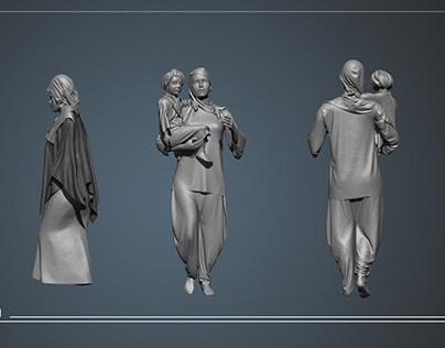 Sculpts for Syntax CGI