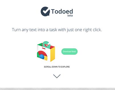Todoed Website Design