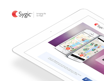 Sygic Family Locator page