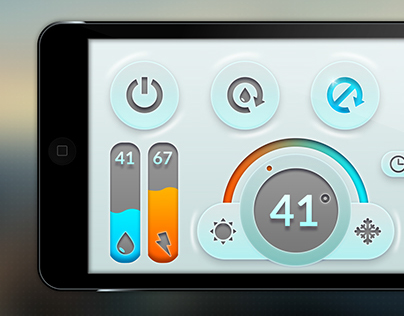 Shower Layout - UI&UX