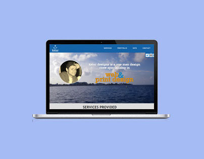 kstardesigns.com - Single page portfolio site