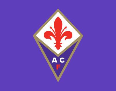ACF Fiorentina official online store graphic design